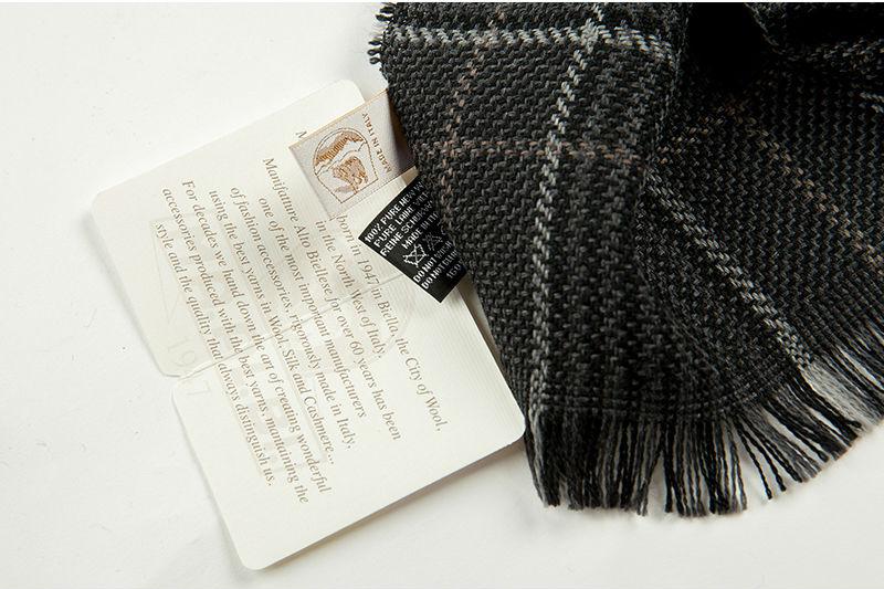 意大利MA.AL.BI.羊毛围巾商标
