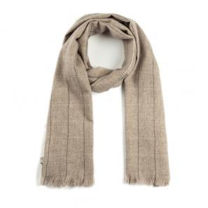 意大利原产MA.AL.BI.羊绒围巾男士围巾女士围巾 棕色