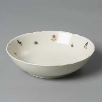 德国原产Seltmann Weiden陶瓷餐盘  西餐具彩色小花系列650ml