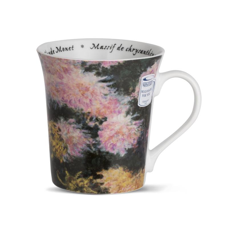 德国原产KOENITZ酷尼子 陶瓷水杯茶杯马克杯莫奈之花