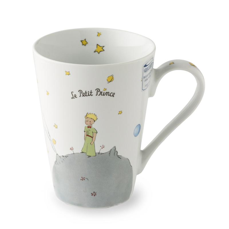 德国原产KOENITZ酷尼子 陶瓷杯马克杯小王子的幸运星(法)420ml