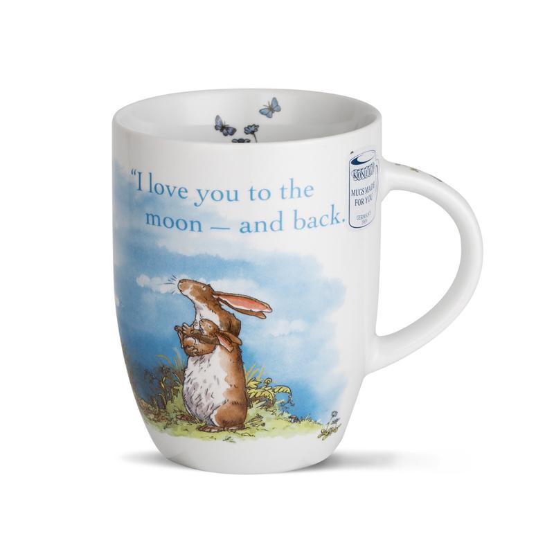 德国原产KOENITZ酷尼子 瓷器水具瓷水杯陶瓷马克杯明月之爱