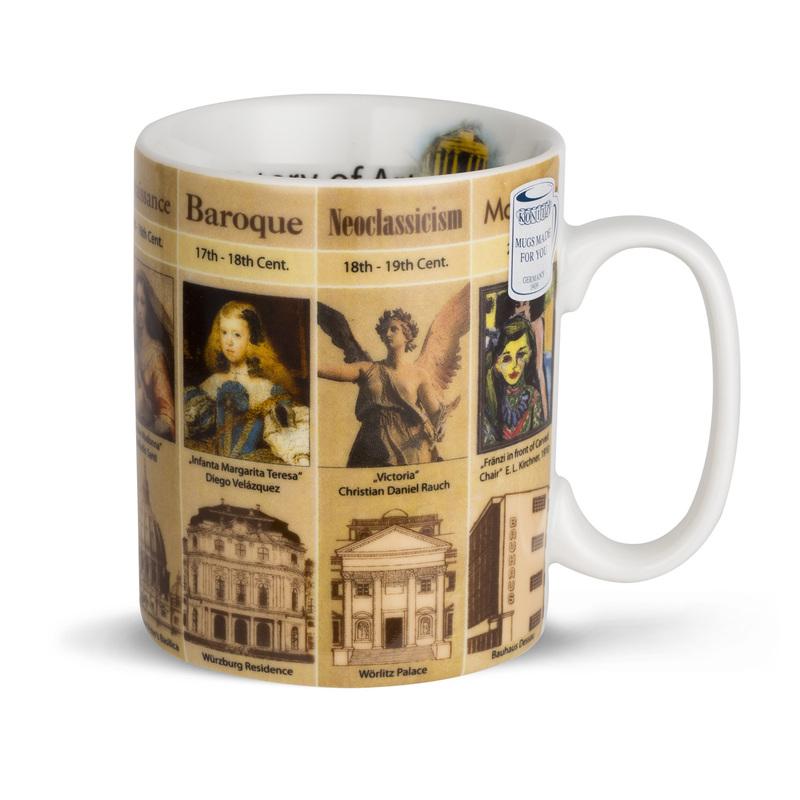 德国原产KOENITZ酷尼子 瓷杯陶瓷杯子陶瓷马克杯历史的艺术