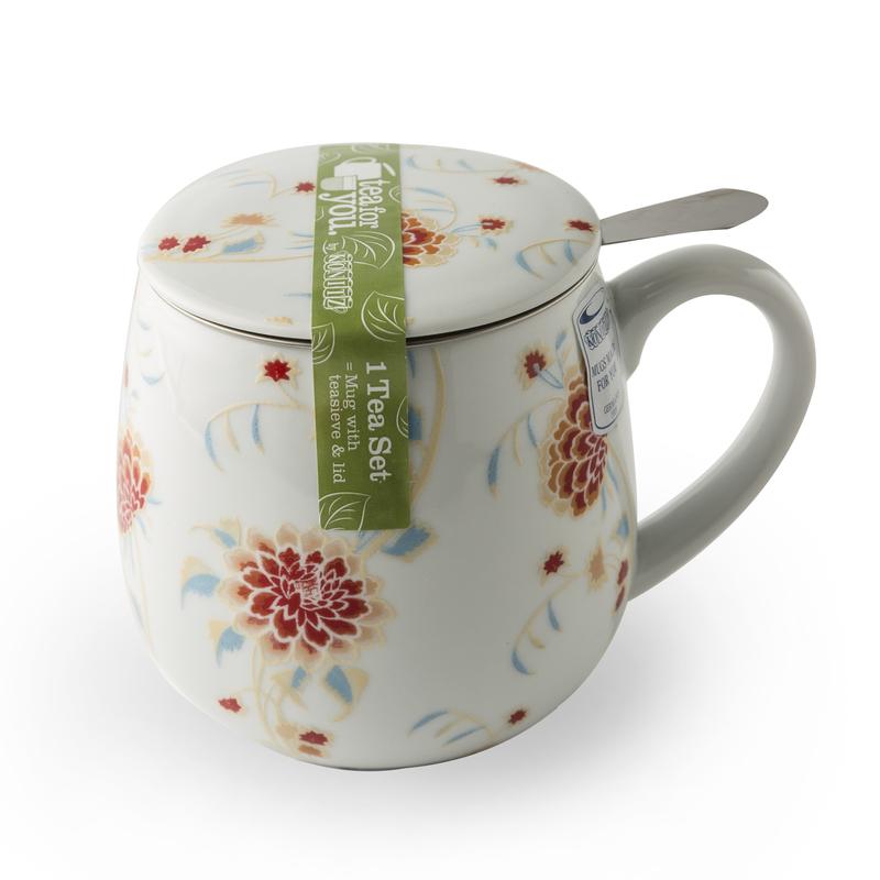 德国原产KOENITZ酷尼子 茶伴系列丽人说瓷器水具陶瓷杯茶杯