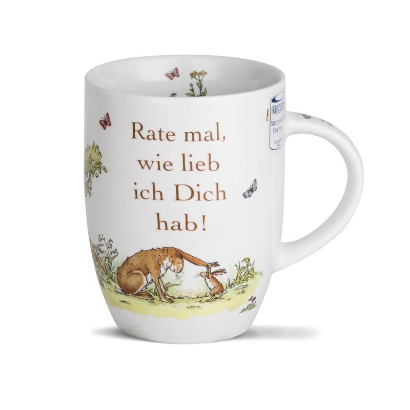 德国原产KOENITZ酷尼子 瓷器陶瓷马克杯爱无极限德语版