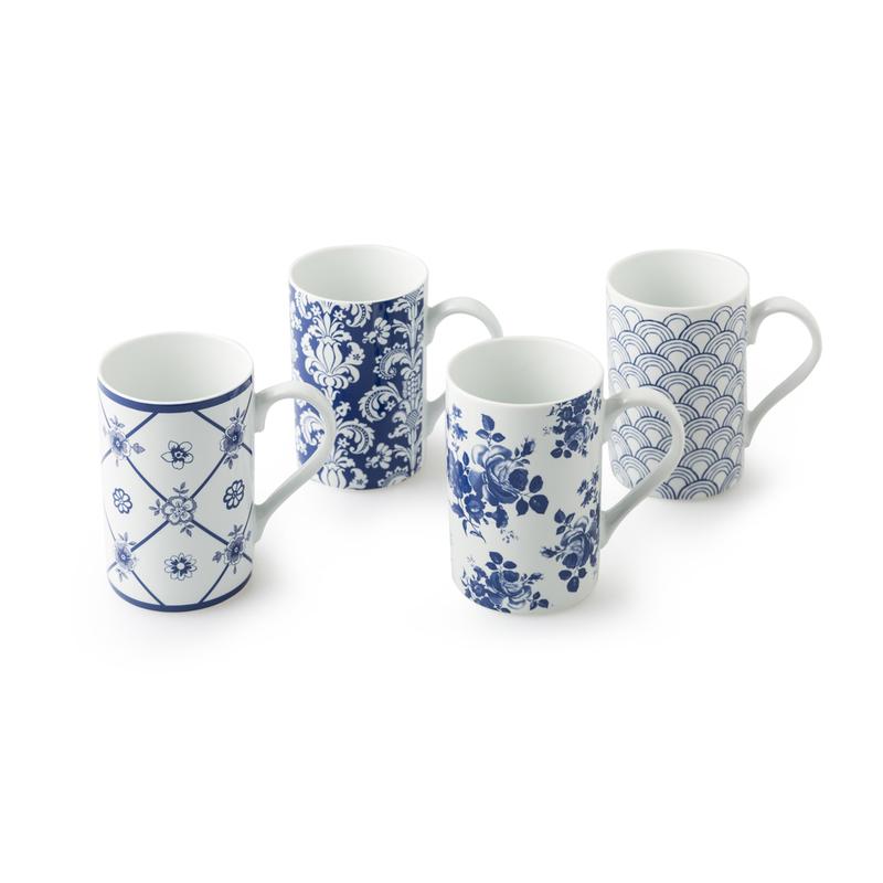 德国原产KOENITZ酷尼子 瓷器不消失的浪漫马克杯4件套
