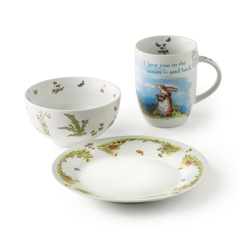 德国原产KOENITZ酷尼子 明月之爱陶瓷杯陶瓷碗马克杯三件套