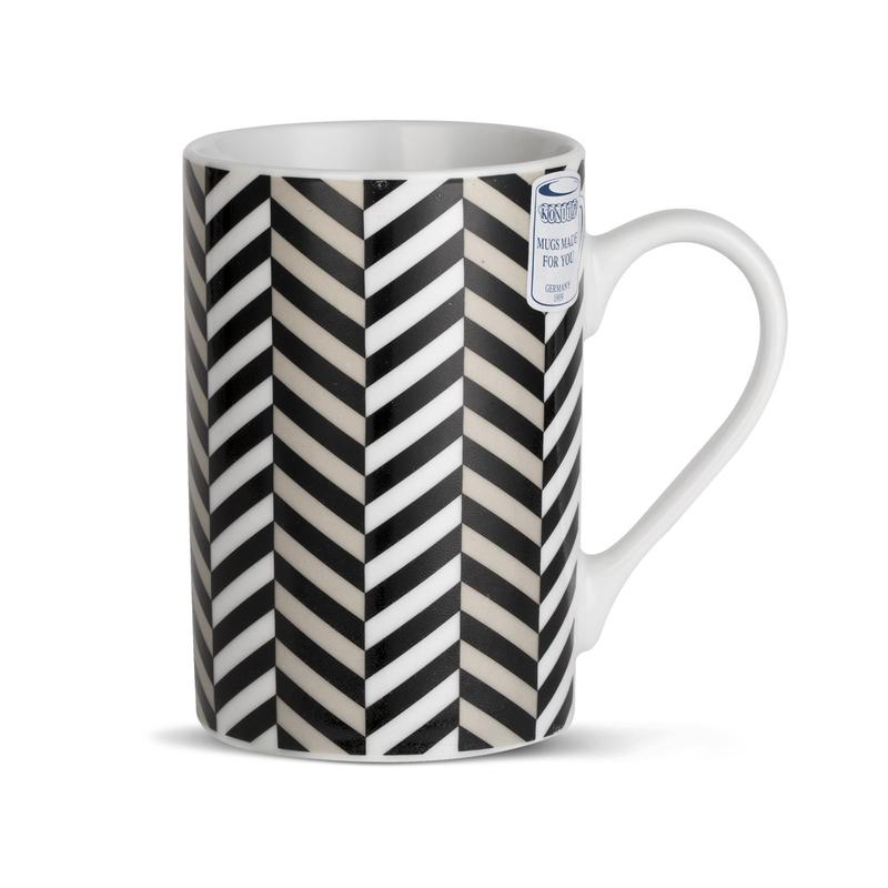 德国原产KOENITZ酷尼子 瓷水杯水具杯具陶瓷马克杯上上下下