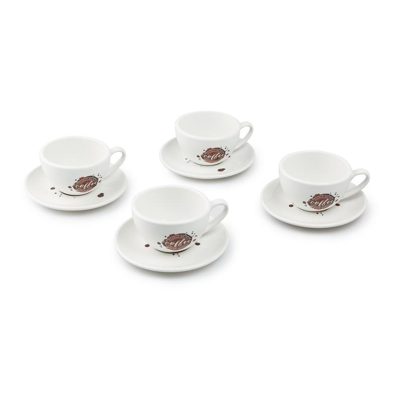德国原产KOENITZ酷尼子 陶瓷卡布奇洛咖啡杯4人套