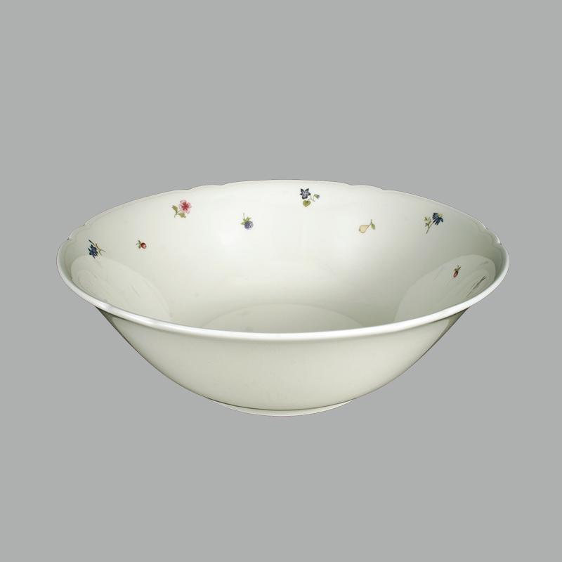 Seltmann Weiden陶瓷碗西餐具 德国原产彩色小花系列2000ml