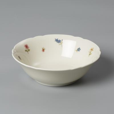 德国原产Seltmann Weiden陶瓷碗西餐具  彩色小花系列400ml
