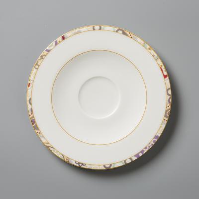 德国Seltmann Weiden陶瓷茶杯碟  佩斯利图案系列17cm