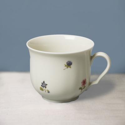 Seltmann Weiden陶瓷咖啡杯茶杯  德国原产彩色小花系列210ml