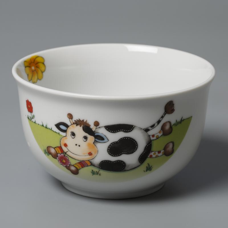 德国原产Seltmann Weiden陶瓷碗 西餐具小奶牛12.5cm
