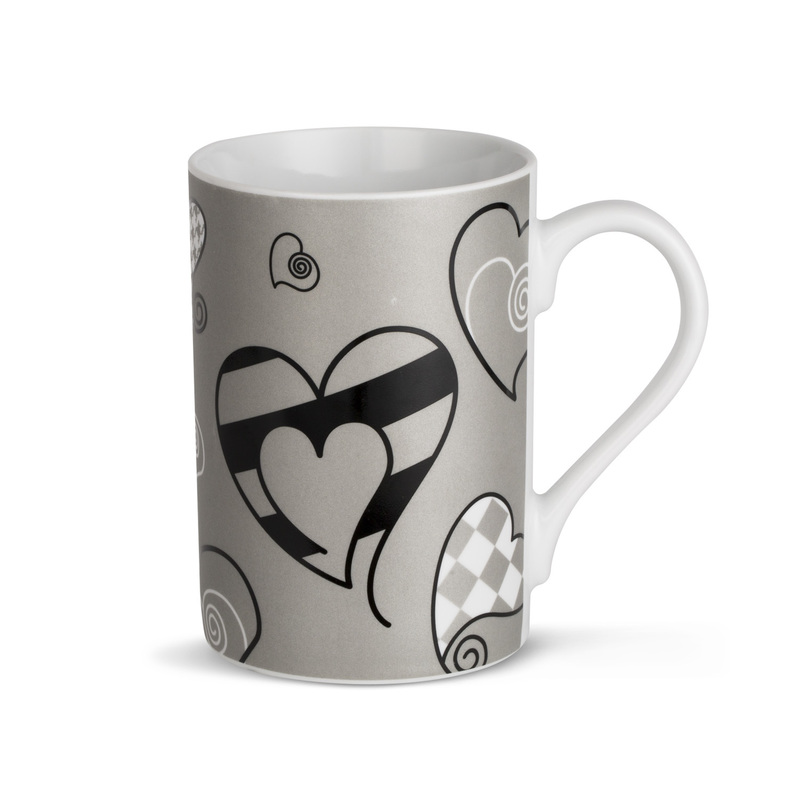 德国原产KOENITZ酷尼子 陶瓷水杯陶瓷马克杯心形图案