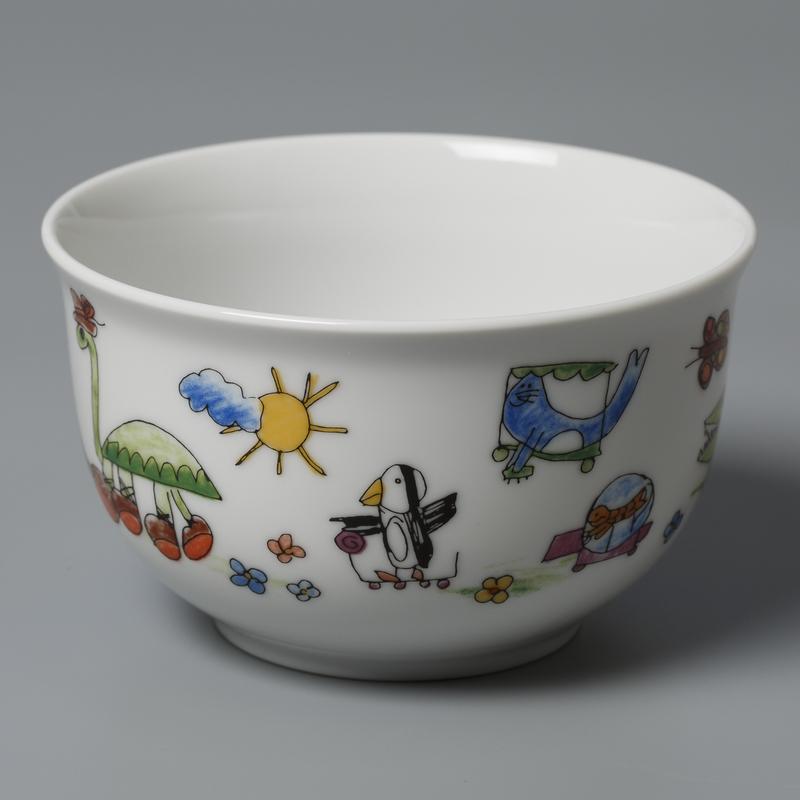 德国原产Seltmann Weiden陶瓷碗 动物图案西餐具7.5*12.5cm