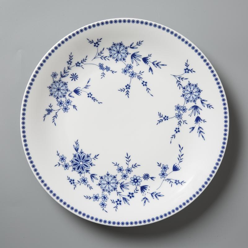 德国原产Seltmann Weiden青花陶瓷餐盘 巴伐利亚西餐具24cm