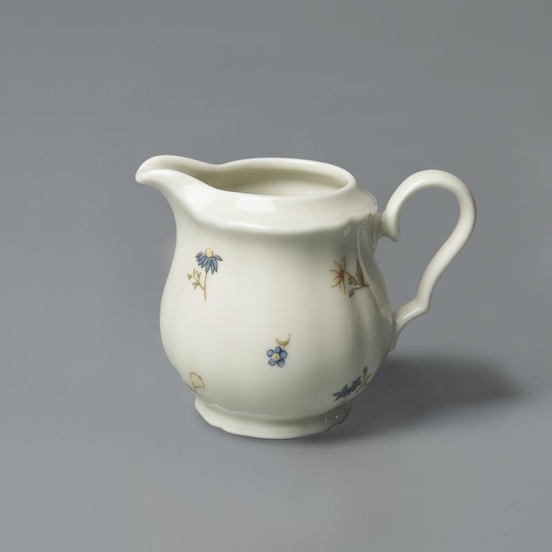 德国原产Seltmann Weiden陶瓷奶罐奶壶 彩色小花系列220ml
