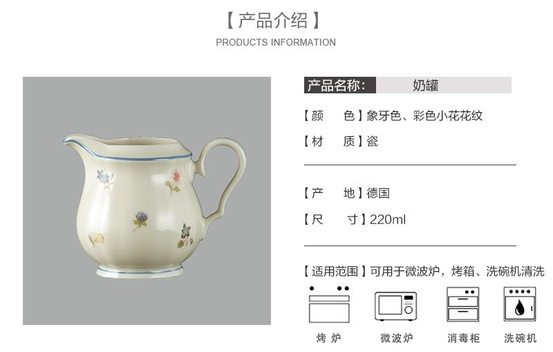 德国Seltmann Weiden陶瓷奶罐奶壶彩色小花系列产品介绍