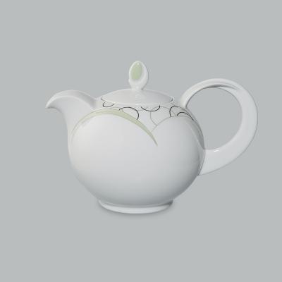 德国原产Seltmann Weiden咖啡壶  陶瓷南湾风情绿色600ml