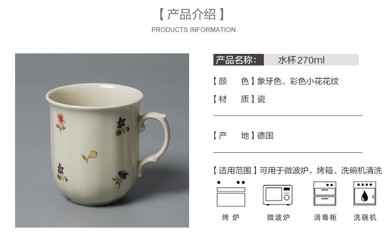 德国原产Seltmann Weiden陶瓷茶杯水杯咖啡杯产品介绍