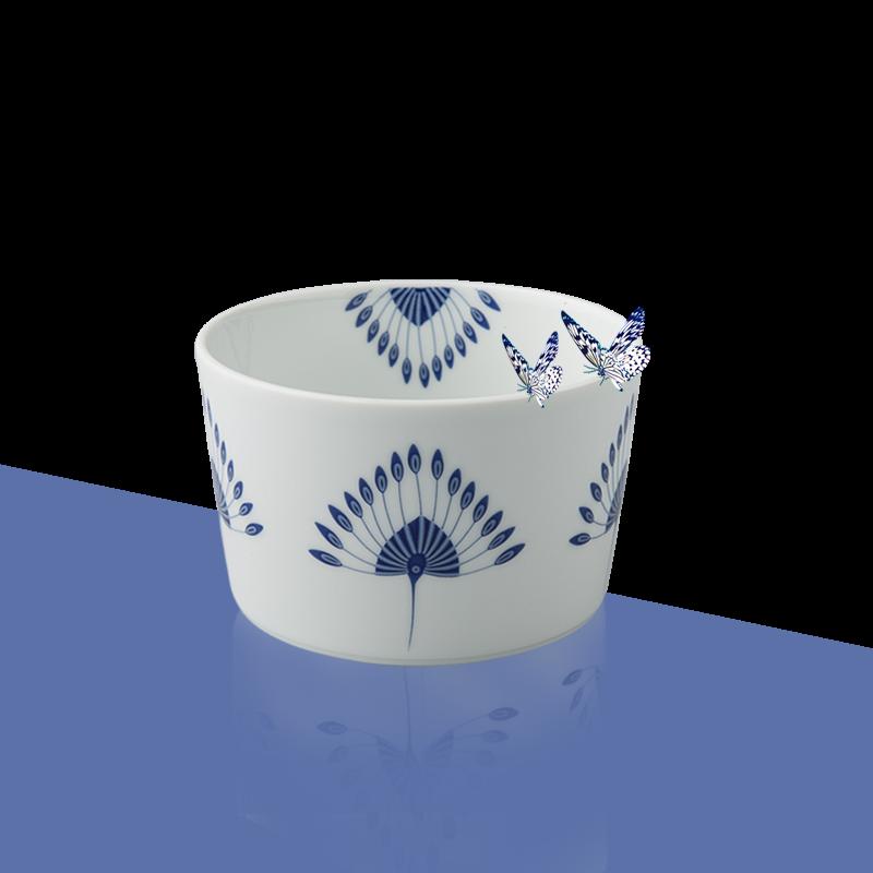 德国原产Seltmann Weiden陶瓷小碗 蓝色律动系列蓝色13*8cm