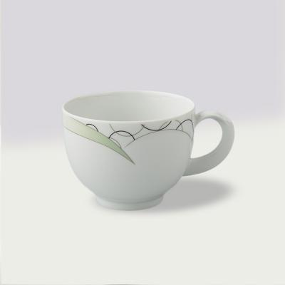 德国原产Seltmann Weiden咖啡杯  陶瓷南湾风情绿色230ml