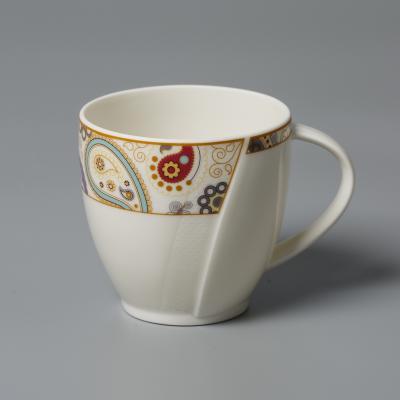 德国产Seltmann Weiden陶瓷咖啡杯茶杯  佩斯利图案系列230ml