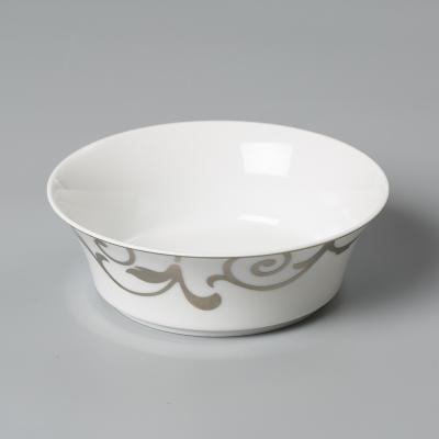 德国原产Seltmann Weiden陶瓷碗  铂金印花西餐具13cm