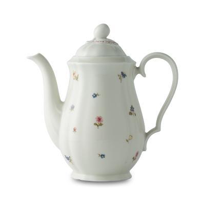 德国原产SeltmannWeiden陶瓷咖啡壶  茶壶水壶彩色小花系列1150ml