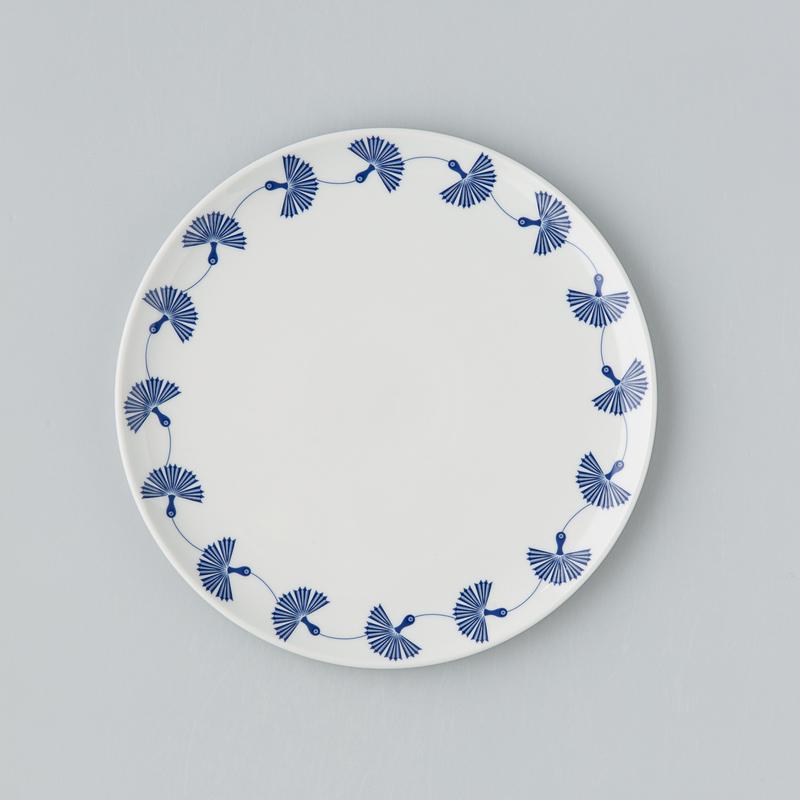 德国原产Seltmann Weiden陶瓷餐盘 蓝色律动系列盘子25cm蓝色