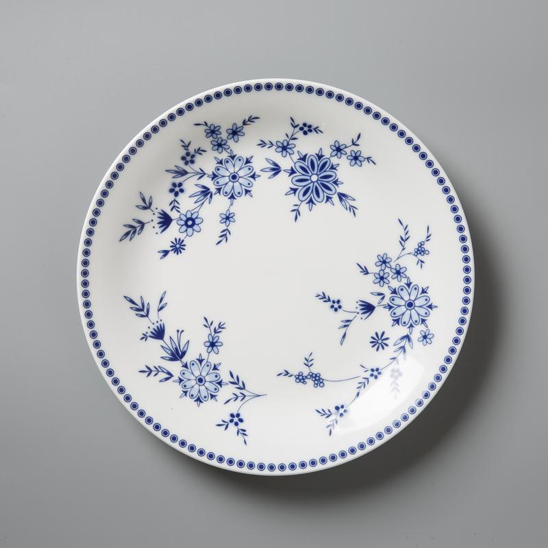 德国原产Seltmann Weiden青花陶瓷餐盘 早餐盘巴伐利亚19cm