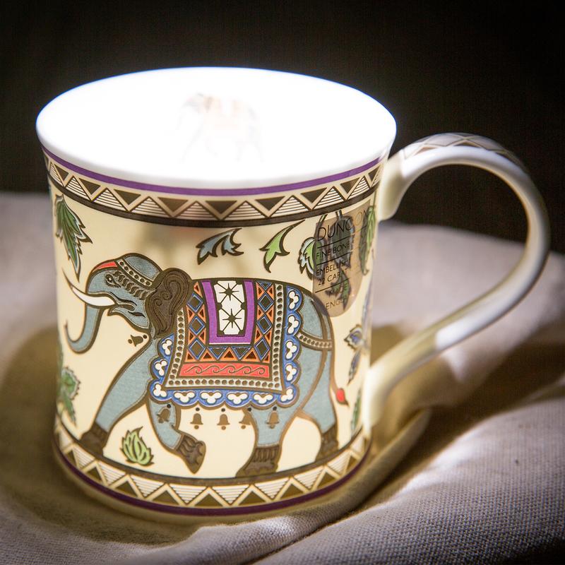 阿拉伯大象骨瓷杯