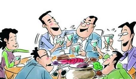 春节聚餐大吃大喝