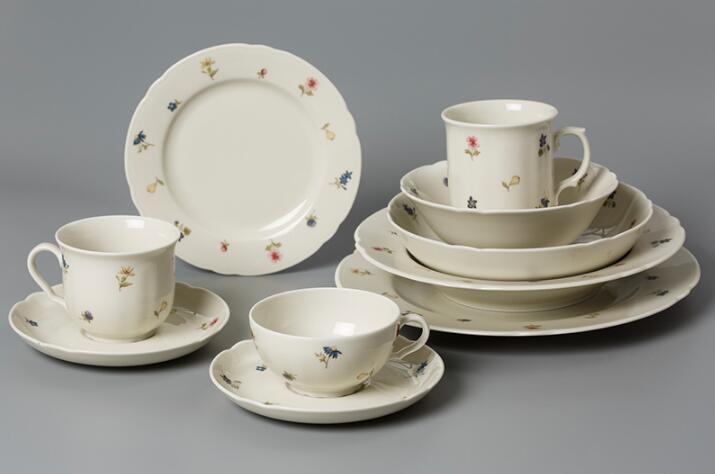 Seltmann Weiden瓷餐具彩色小花系列套装