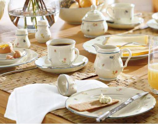 德国硬质瓷——seltmann weiden小花系列餐具