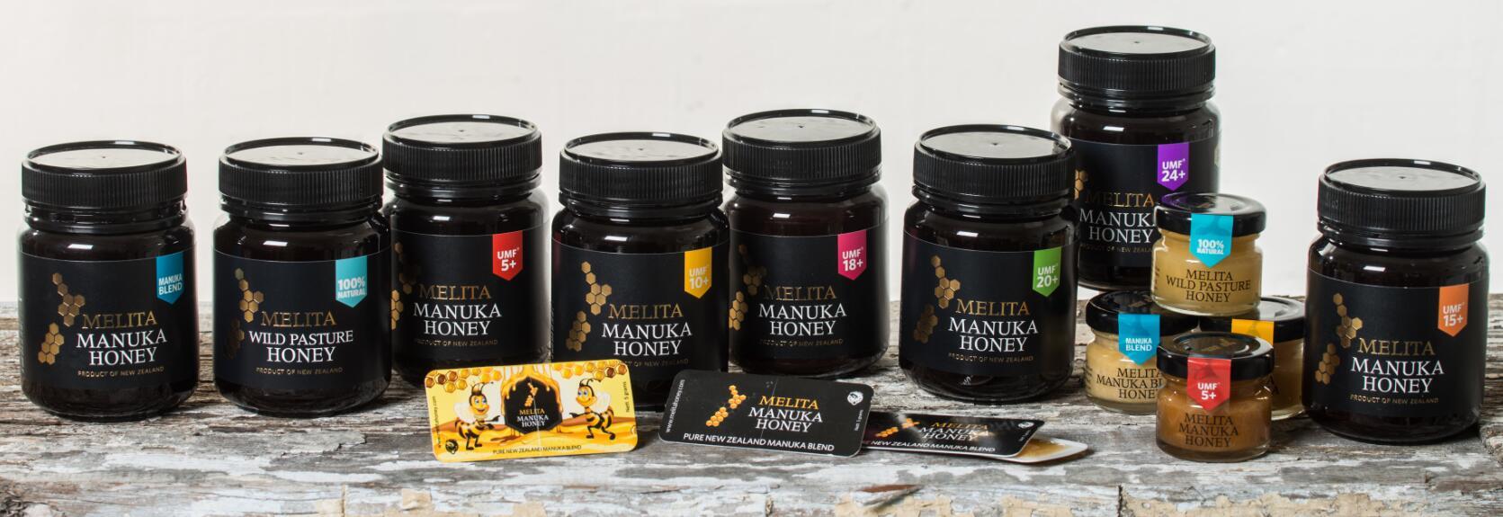Melita蜂蜜在内的50多种蜂蜜