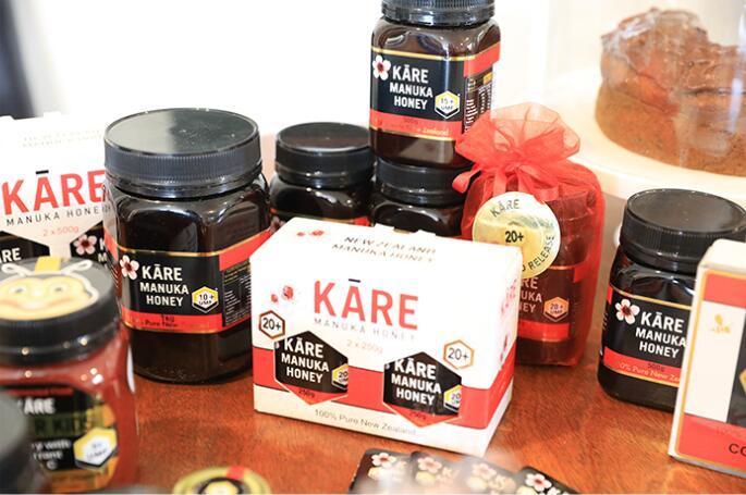 不同umf规格的kare麦卢卡蜂蜜
