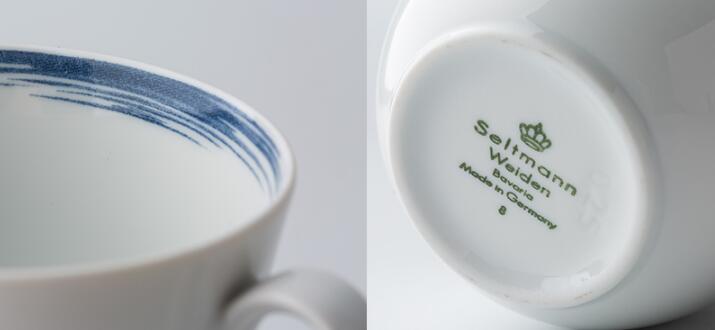 Seltmann Weiden咖啡杯细节展示