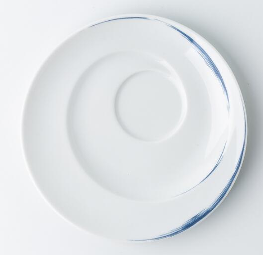 Seltmann Weiden咖啡杯垫盘 蓝描系列德国原产瓷器餐具17cm