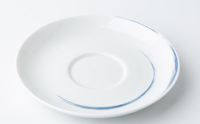 德国原产Seltmann Weiden茶托 蓝描系列瓷器餐具13cm