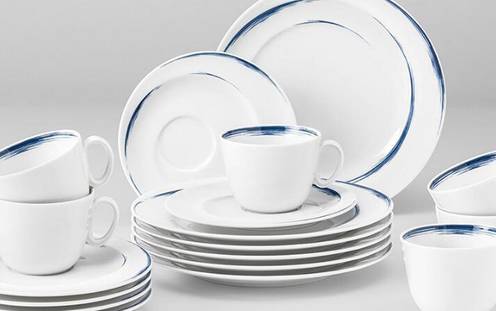 Seltmann Weiden瓷器餐具 蓝描系列餐具套装
