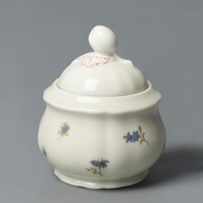 德国原产Seltmann Weiden陶瓷糖罐  彩色小花系列210ml