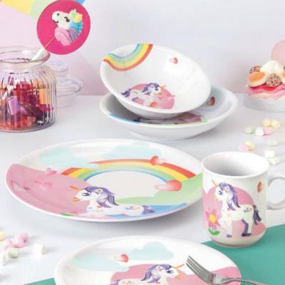 Seltmann Weiden儿童餐具三件套  独角兽系列德国原产瓷器