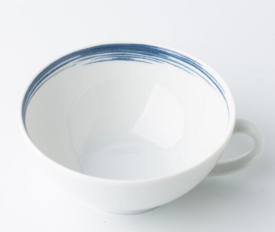德国Seltmann Weiden茶杯 蓝描系列瓷器餐具140ml