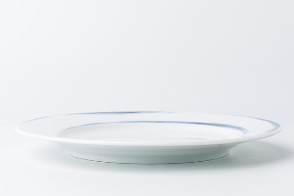 德国原产Seltmann Weiden餐盘 大盘28cm蓝描系列瓷器餐具