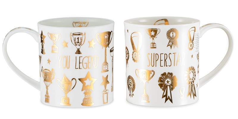 英国丹侬dunoon荣誉殿堂系列两款杯子展示