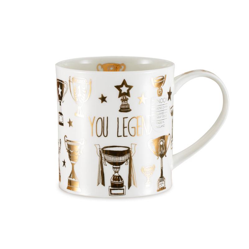 DUNOON 英国丹侬Dunoon骨瓷茶杯马克杯荣誉殿堂一代传奇
