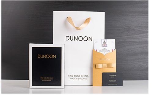 英国丹侬Dunoon骨瓷水杯马克杯茶杯伦敦卫兵骨瓷杯的包装