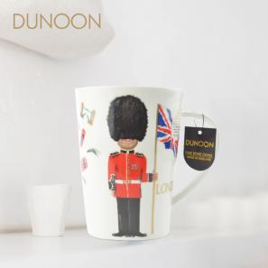 DUNOON 英国丹侬Dunoon骨瓷水杯马克杯茶杯伦敦卫兵